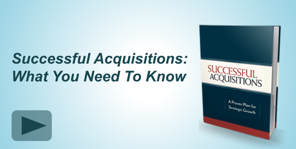 Tailor your acquisitions